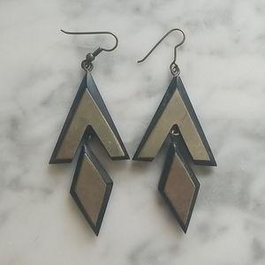 VTG Wooden earrings